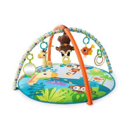 Bright Starts Activity Gym and Play Mat - Monkey Business Musical