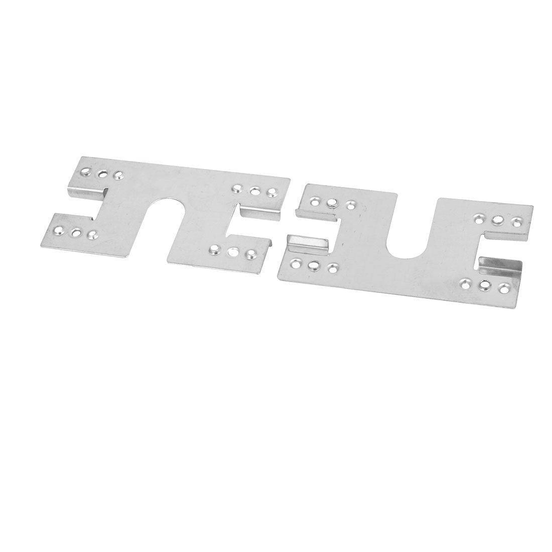 Unique Bargains 50pcs 50x28x3mm Stainless Steel Solar Conducting Strip Roof Mounting Bracket - image 1 de 2