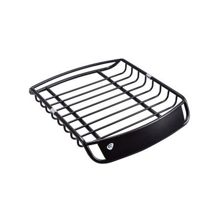 Goplus Universal Roof Rack Cargo Car Top Luggage Holder Carrier Basket SUV (Roof Basket Rack)