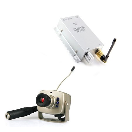 axGear Wireless Camera Cordless Color Cam 2.4G Night Vision Spy TV Video Cam - image 8 de 8