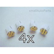 SmallAutoParts White T10 8-Smd Led Bulbs - Set Of 4