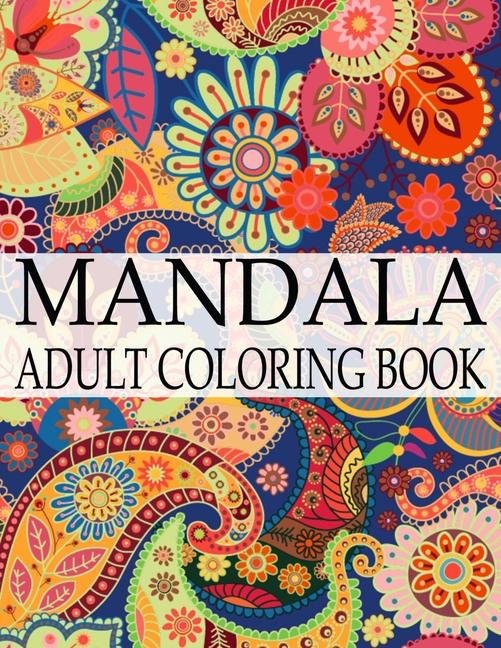 Mandala Adult Coloring Book: Wonderful Mandalas Coloring ...