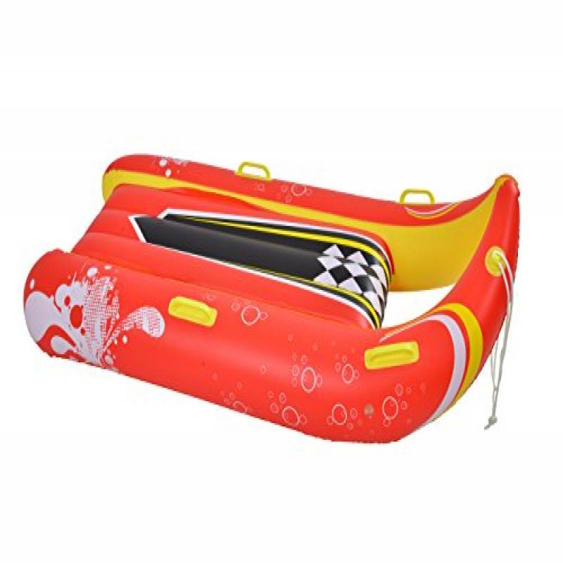 2-Person Inflatable Snow Sled by