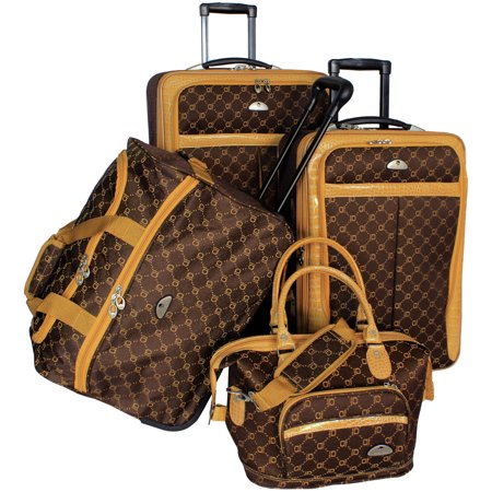 AF 4P Signature LuggageSet Gold