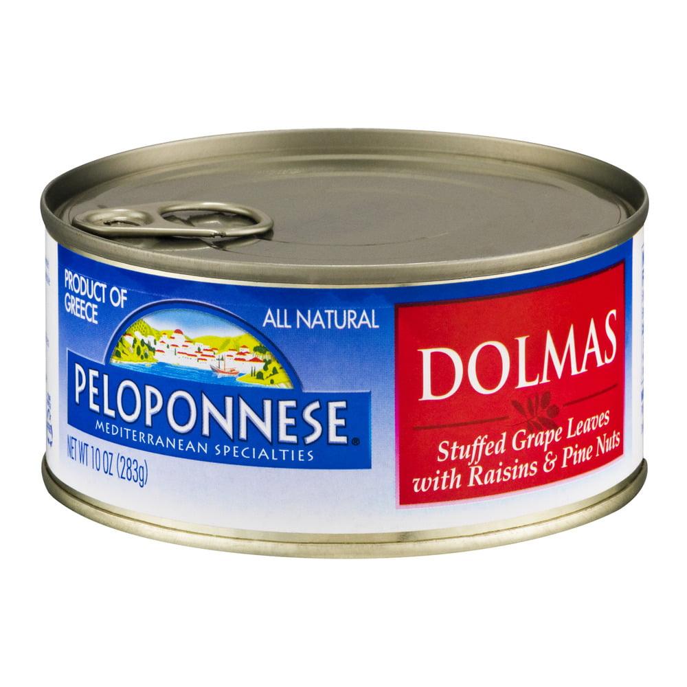 Peloponnese Dolmas with Raisins & Pine Nuts, 10.0 OZ