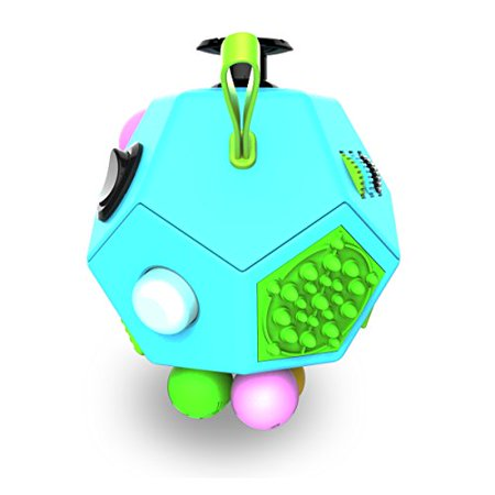 Fidget Dodecagon –12-Side Fidget Cube Relieves Stress and