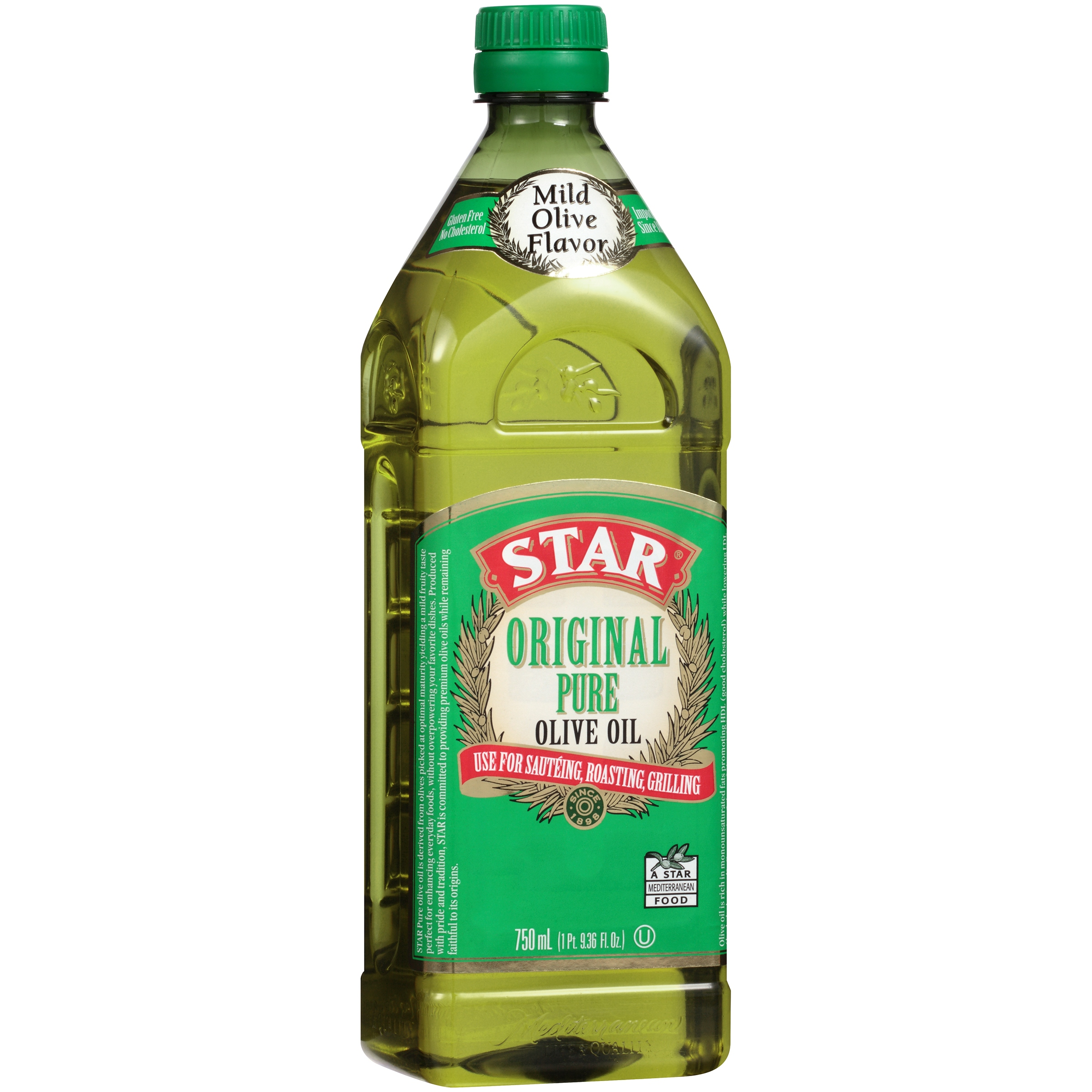 Star® Original Pure Olive Oil 750 mL Bottle