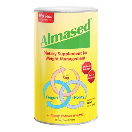 Almased Multi Protein Powder 17.6 oz Natural High Breakfast