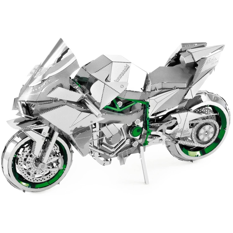 ICONX 3D Metal Model Kit, Kawasaki Ninja H2R by Fascinations