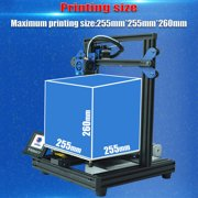 TRONXY XY-2 Pro 3D Printer Kit Fast Assembly 255*255*260mm Build Silent Printing Support Auto Leveling Resume Print Filament Run Out Detection with 8G TF Card &/PLA Sample