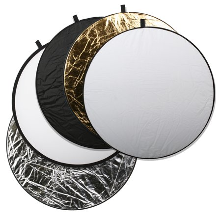 Square Perfect Professional Quality 43 Inch 5 In 1 Light Multi Collapsible Photo Disc Reflector
