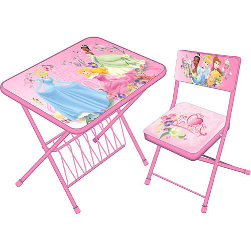 Licensed Activity Folding Desk And Chair Set Walmart Com