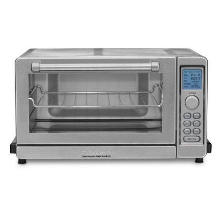 Cuisinart TOB-135 Deluxe Convection Toaster Oven Broiler, Brushed Stainless, Refurbished.
