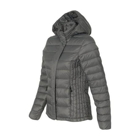 7d66dfd558a Weatherproof - 32 Degrees Women's Hooded Packable Down Jacket - 17602W