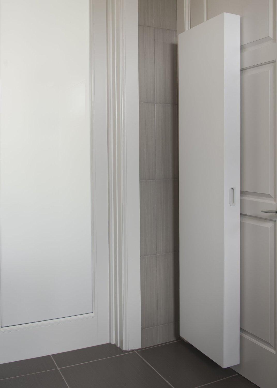Cabidor Classic Behind The Door, Behind The Door Storage Cabinet With Mirror