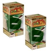 Perfect Pod Eco-Fill Refillable Capsule for K-cup Brewers - 2 Pack