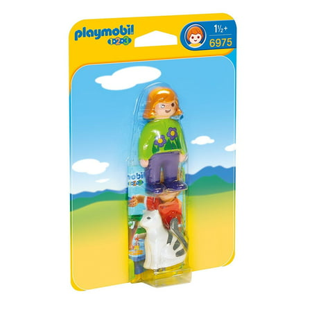 Woman with Cat 1.2.3 - Imaginative Play Set by Playmobil