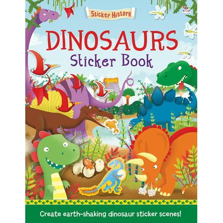 Dinosaurs Sticker Book : Create earth-shaking dinosaur sticker scenes!
