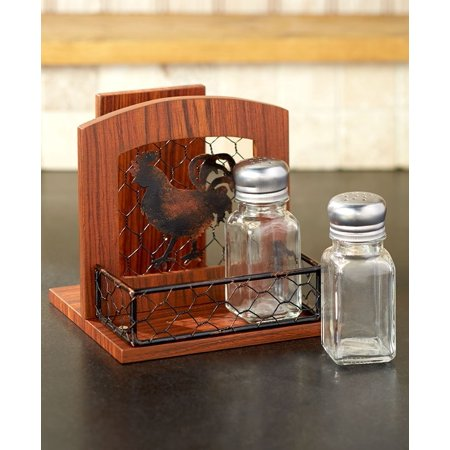 Country Kitchen Collection Rooster Napkin Holder ()