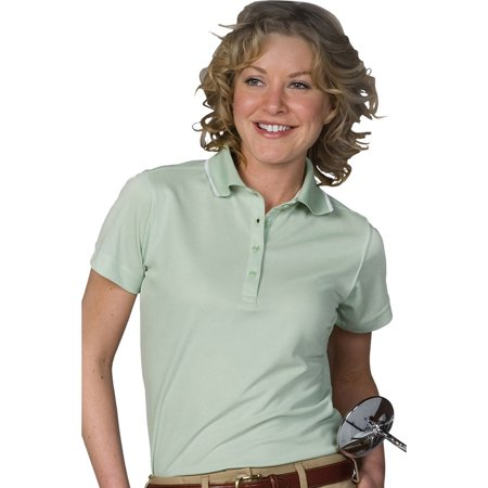 Edwards 5575 Ladies Tipped Collar Polo