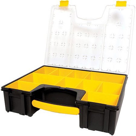 STANLEY 014710R Deep Organizer Professional, 10 Compartments (Stanley Storage Boxes)