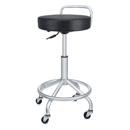 Pneumatic Shop Stool (UltraHD Cushioned Pneumatic Work Stool by Seville)