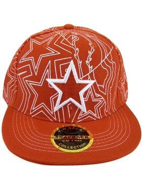 3bf3423b46c3e Product Image Dallas Men s Star Pattern Adjustable Snapback Baseball Cap ( Red)