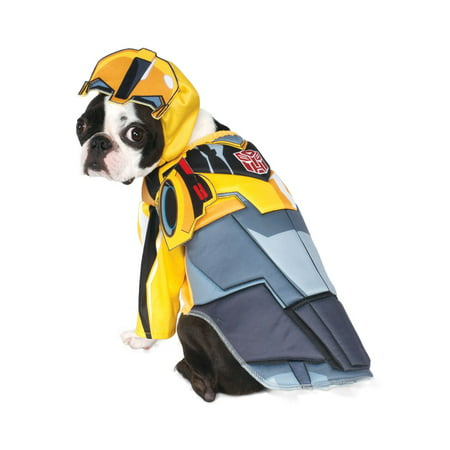 Bumblebee Dog Costume (Transformer Deluxe Bumble Bee Pet Halloween)