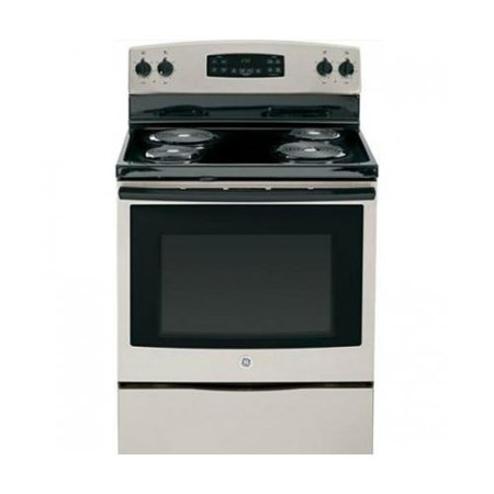 JB250GFSA 30 Freestanding Electric Range with 4 Coil Burners  5.3 Cu. Ft. Capacity Self-Cleaning