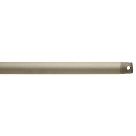 Kichler Fan Down Rod 1.00 OD X 72.00, Antique Satin Silver -