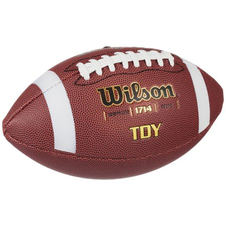 Wilson TDY Official Series Composite Youth Leather Football