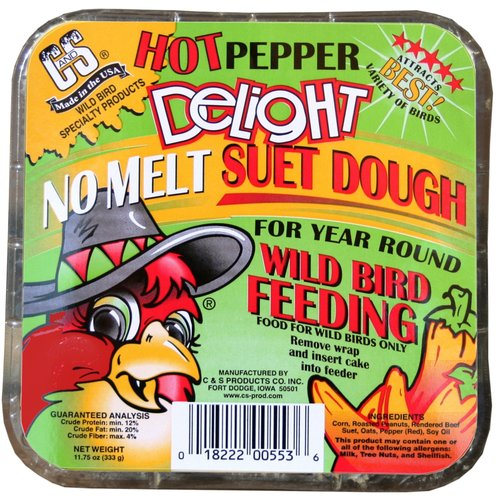 C&S Suet Hot Pepper Delight
