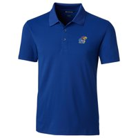 Kansas Jayhawks Cutter & Buck Forge Tailored Fit Polo - Royal