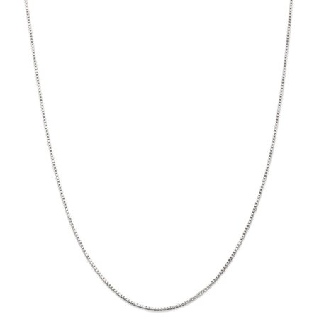 (ICE CARATS 925 Sterling Silver 1.25mm Link Box Chain Necklace 18 Inch Pendant Charm Fine Jewelry Ideal Gifts For Women Gift Set From Heart)