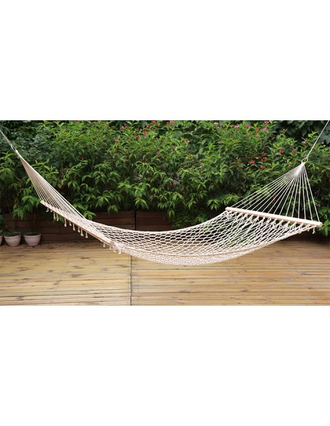 """Acapulco"" Single Cotton Hammock by Stansport, Inc"