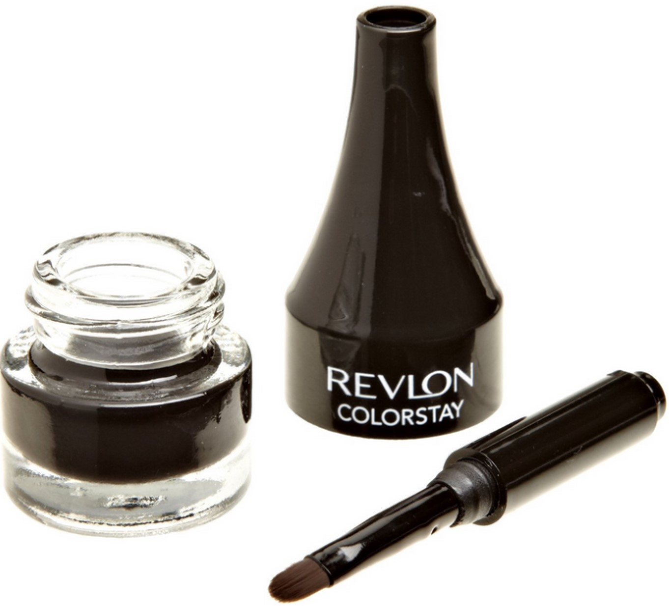 Revlon ColorStay Liner Creme Gel Eye Liner, Black [001], 0.08 oz (Pack of 2)