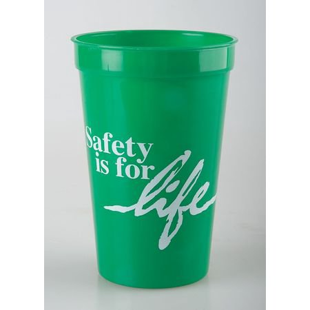 Stadium Cup, Green ,Quality Resource Group, 24GSCSL - Stadium Cups