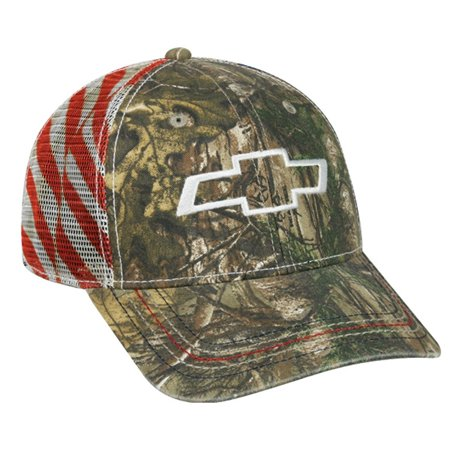 Chevy Realtree Xtra Americana Mesh Back Patriotic Hat / Cap](Chef's Hat)