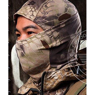 acid tactical highlander camouflage balaclava full face mask ninja hood millitary camo by
