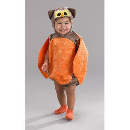 Infant Orange Owl Romper Costume (Owl Custome)