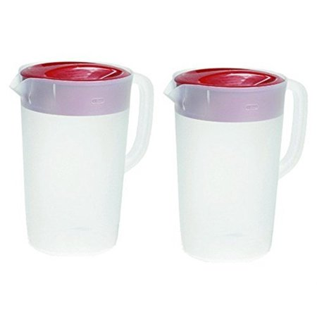 - Rubbermaid Gallon Covered Pitcher 1 Gallon (Pack Of 2)