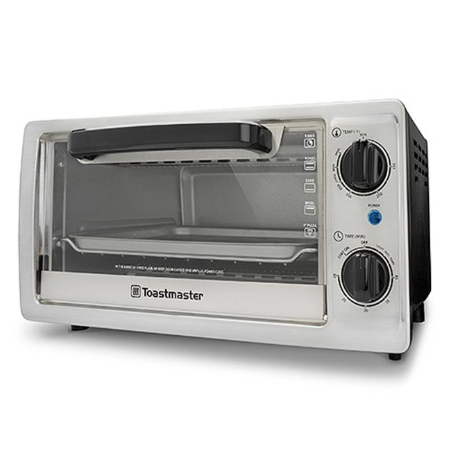 Toastmaster TM-102TR 4 Slice Toaster Oven, 10 litre