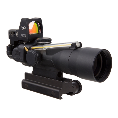 Click here to buy Trijicon 3x30 Compact ACOG RMR Type 2 Riflescope w  Colt Knob Thumbscrew Mount TA33-C-400312 by Trijicon.