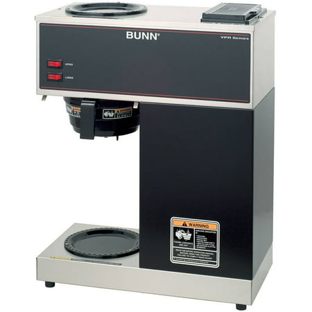 Refurbished Bunn Vpr 12 Cup Commercial Coffee Brewer  Black  33200 1000