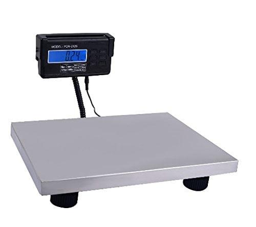 440 lbs x 0.1 Lb Digital Floor Bench Platform Postal Scale KG LB OZ 200Kg Ship from USA by Oem