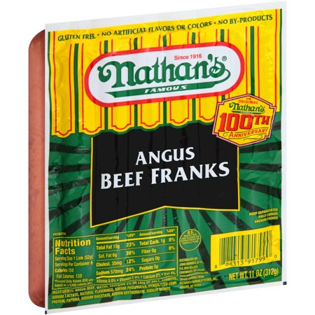 Nathan S All Beef Hot Dogs Gluten Free
