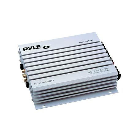 Pyle PLMRA400 - Elite Series Waterproof Amplifier, 400 Watt 4-Channel Amp