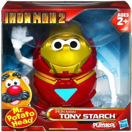 Iron Man 2 Iron Man Tony Starch Mr. Potato Head (Mr Potato Head Iron Man Tony Starch)