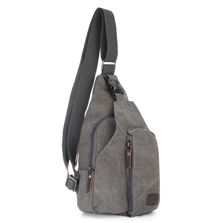 Vintage Military Men Canvas Crossbody Bag Casual Satchel Messenger Shoulder Bags