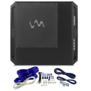 VM Audio ECD1200.1 Encore 1200W 1 Ohm Class D Digital Mono Car Amp + Wiring Kit